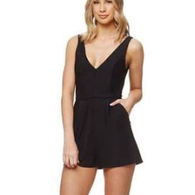 """Kookaï """"tonic"""" Playsuit New Without Tags Size 34 (6)"""