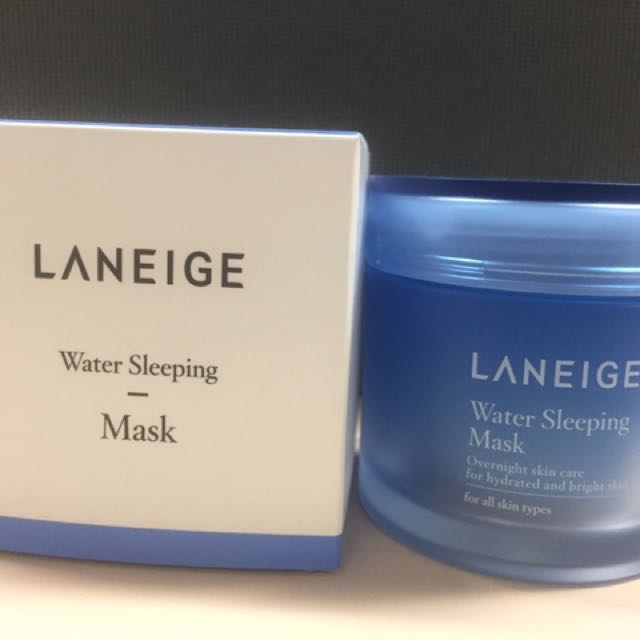 Laneige Water Sleeping Mask 70ml (real Size)