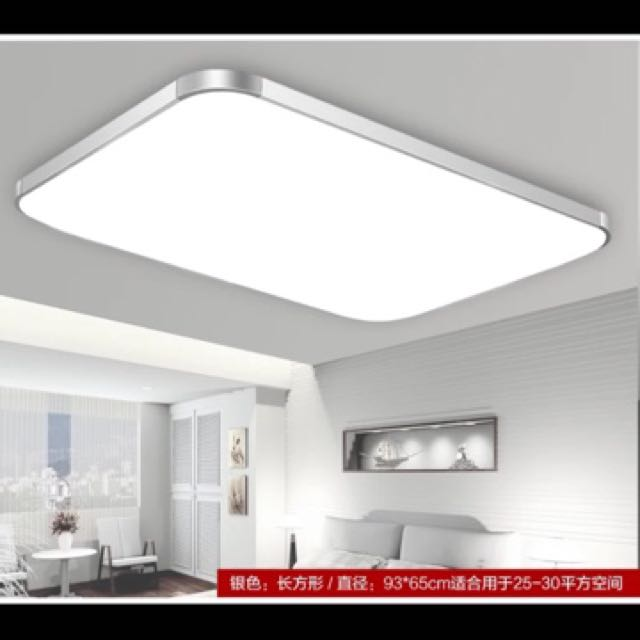 LED Dim-able Big Ceiling Light Brand new