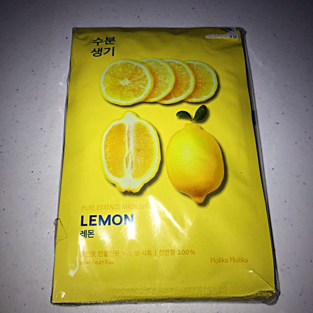Lemon Facial masks