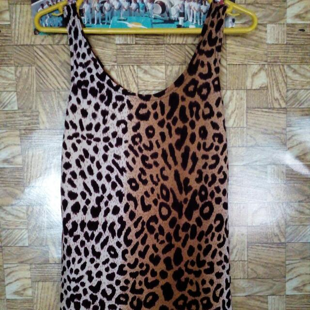 Leopard Sleeveless