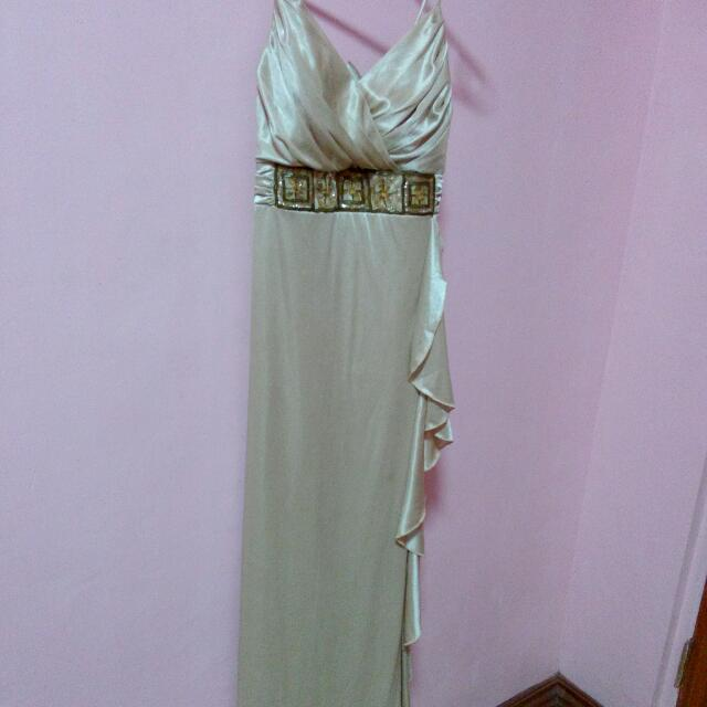 Light Brown Long Gown M