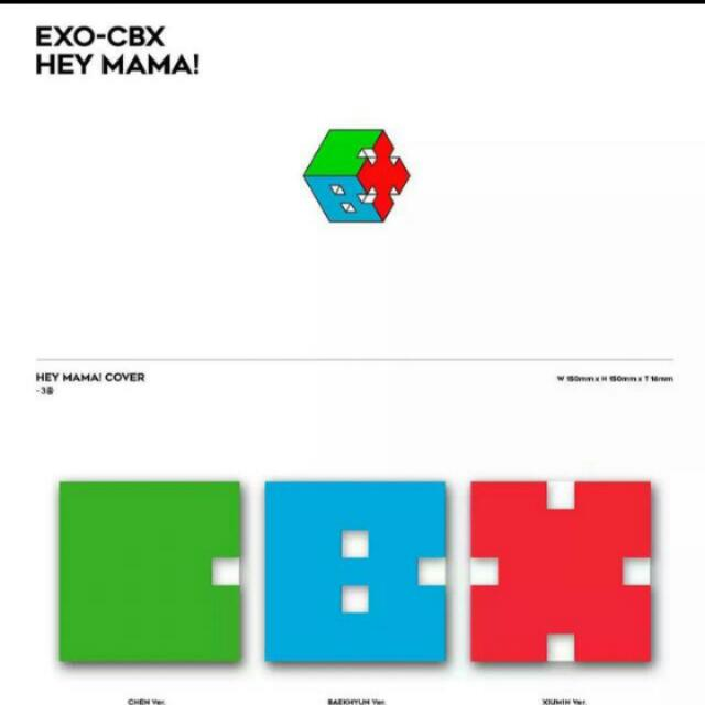 LOOKING FOR EXO'S CBX ALBUMS (ALL)