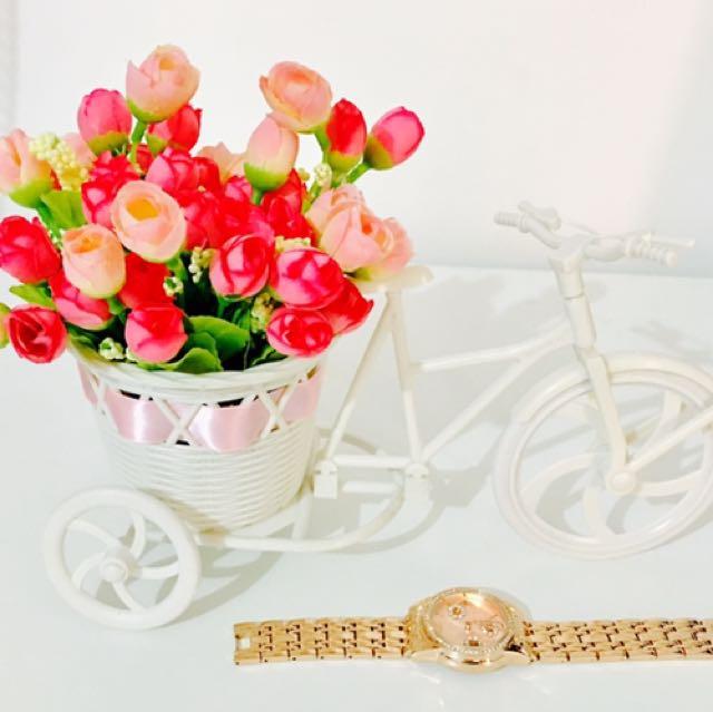 Lovely Mini Bike With Flower