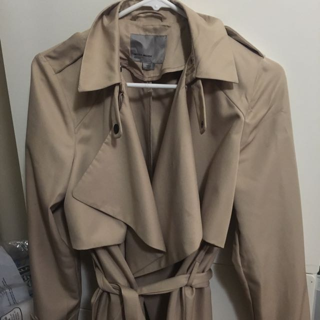 M FOR MENDOCINO TRENCH COAT