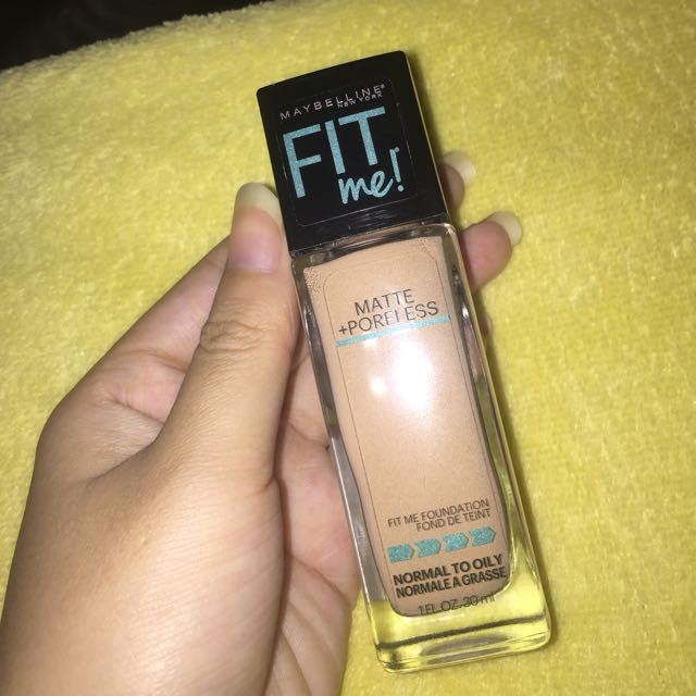 MAYBELLINE FIT ME Liquid Foundation! 🤗
