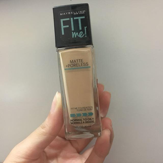 Maybelline Fitme! Foundation shadenya 125 Nude Beige