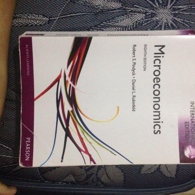 Microeconomics Eight Edition