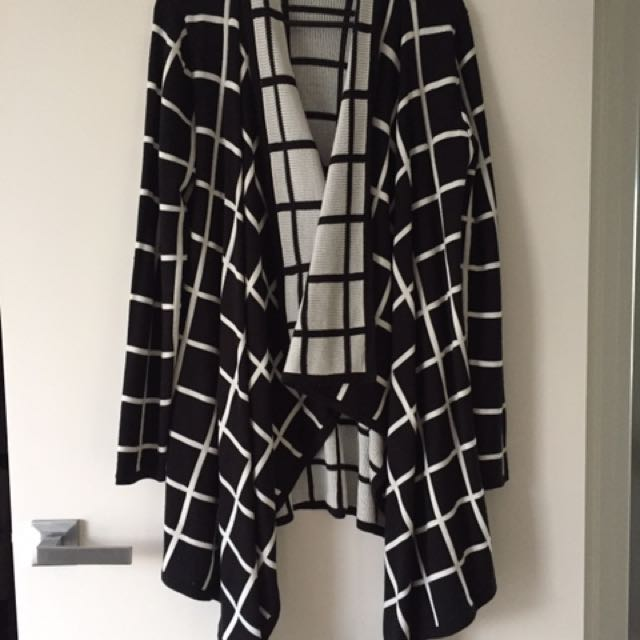 Milk & Honey Waterfall Cardigan Size 12