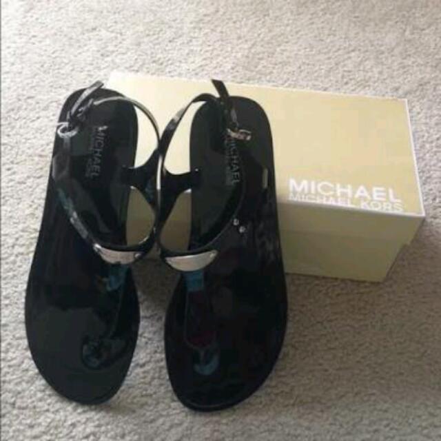 MK Michael Kors Jelly Plate Sandal