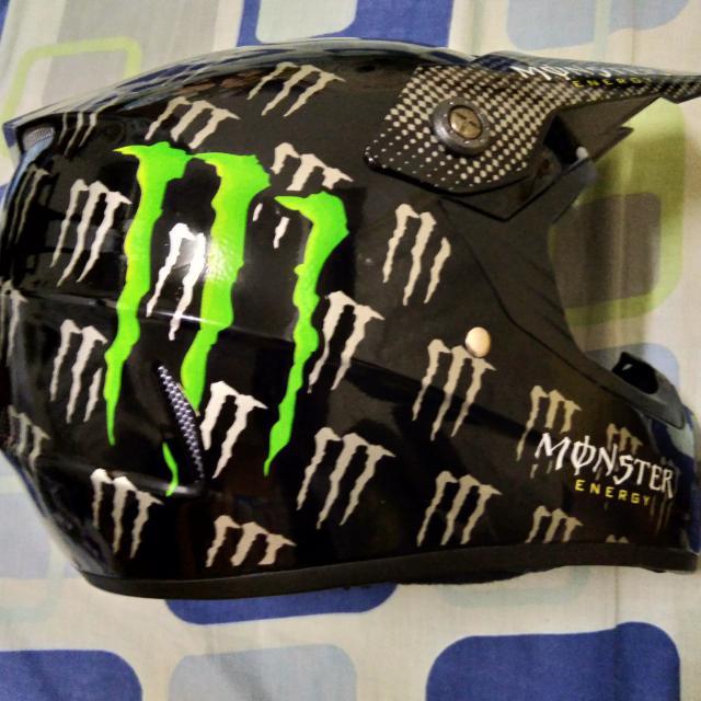 Monster越野帽含風鏡