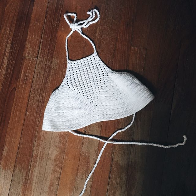7130a4c7859 MOOLOOLA Knitted Bralette