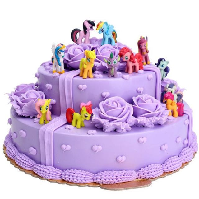 My Little Pony Cake Toppers Babies Kids On Carousell