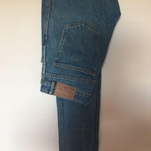 Neuw Blue Wash Denim Jeans