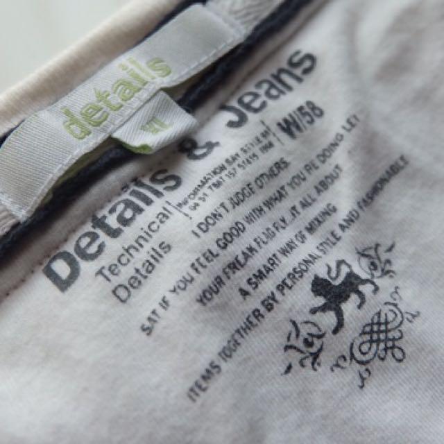 'DETAILS' LONG T-shirt