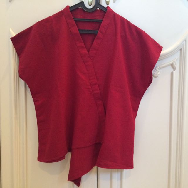 NEW: Kimono Red Shirt
