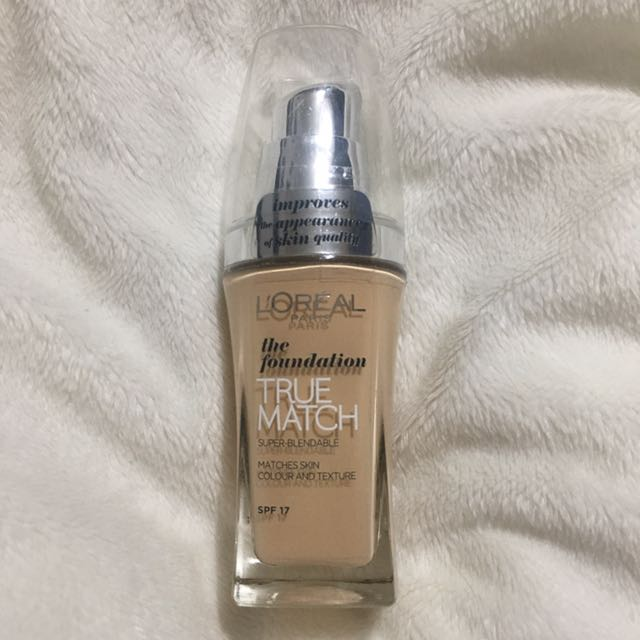 New, Sealed | L'oreal True Match Foundation W1 Golden Ivory