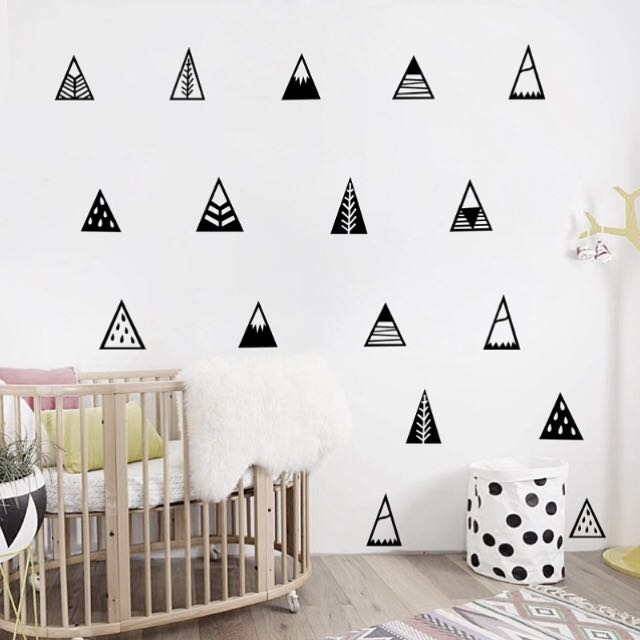 Nordic Moutain Wall Decal