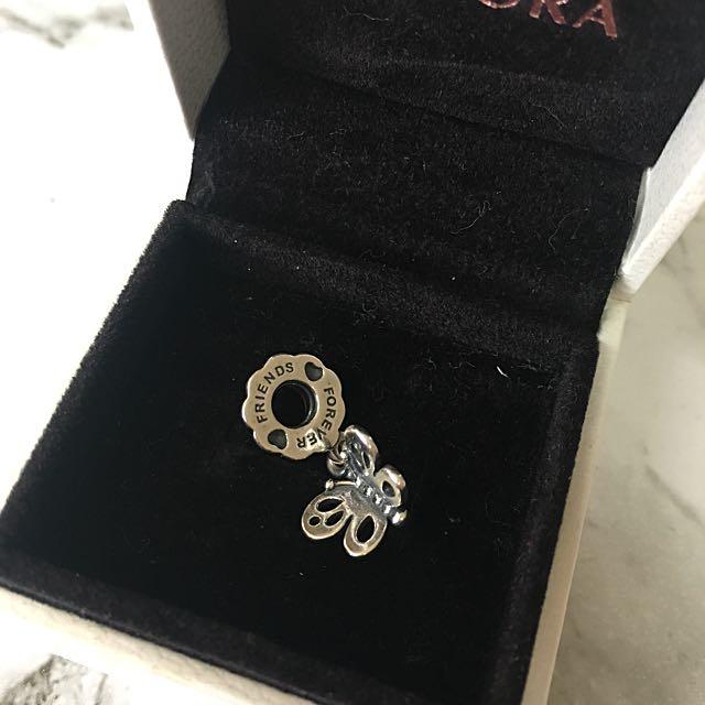 Pandora Dangling Butterfly Charm