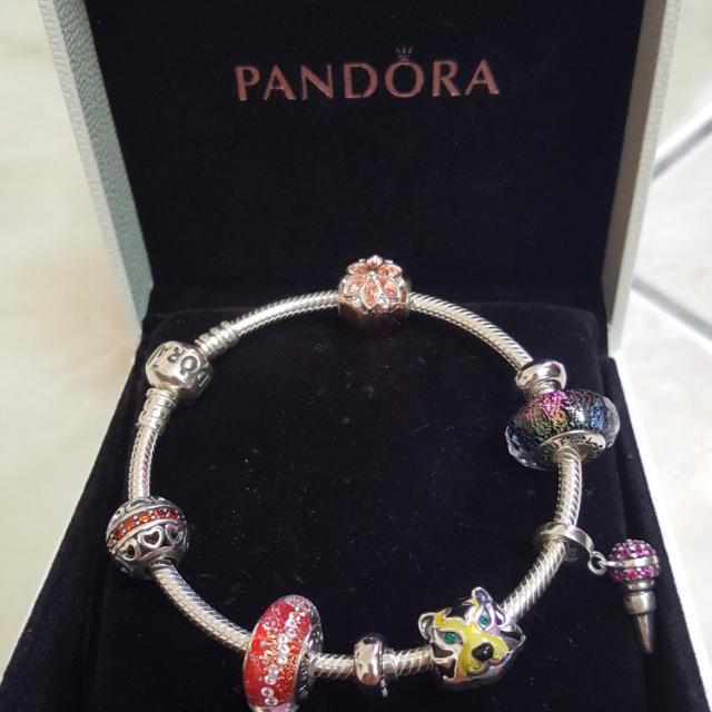 14e70214c Pandora Original Bracelet With Soufeel Charms, Women's Fashion ...