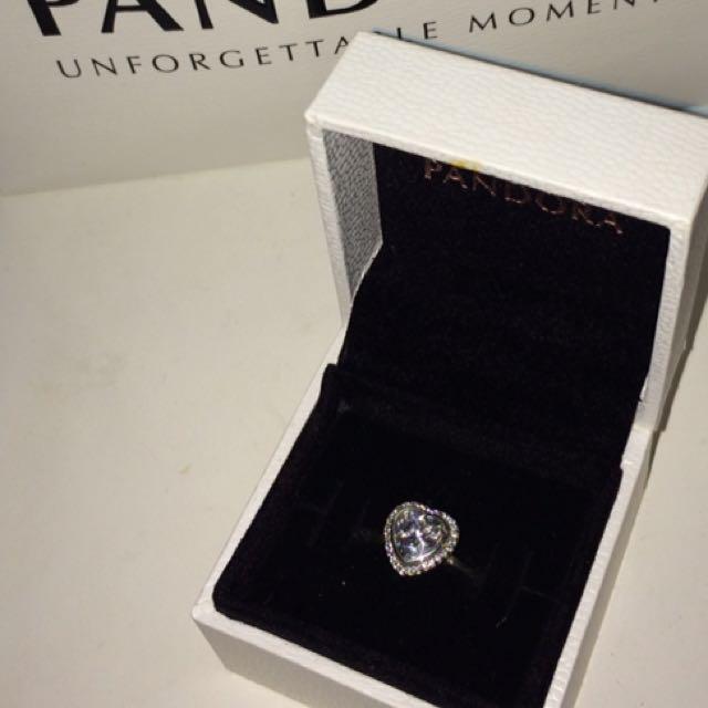 Pandora Sparkling Heart Ring