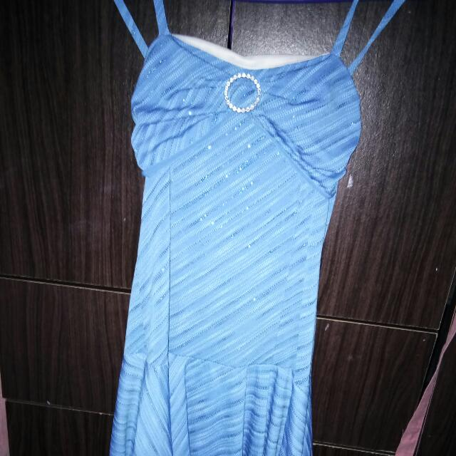 Party Dress (Blue)