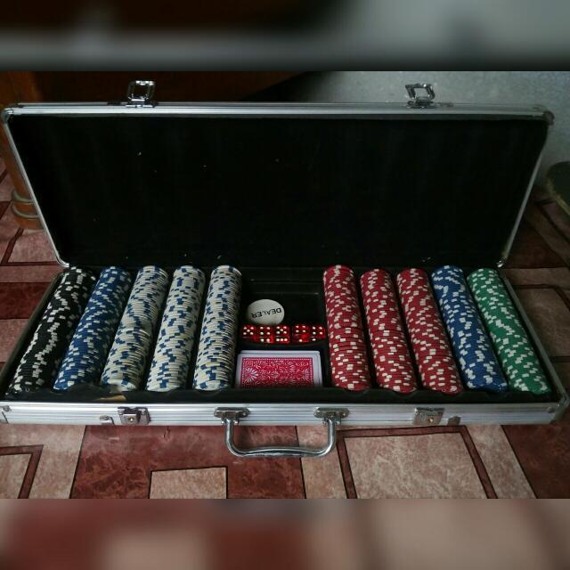 Poker Chip Set 500's