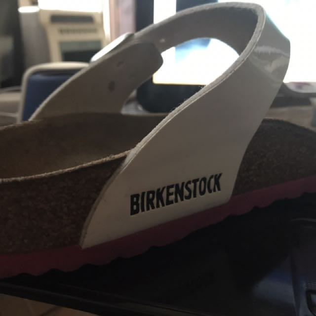 Pre loved authentic GIZEH Birkenstock Sz 37