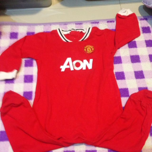 preloved authentic manchester united jumper