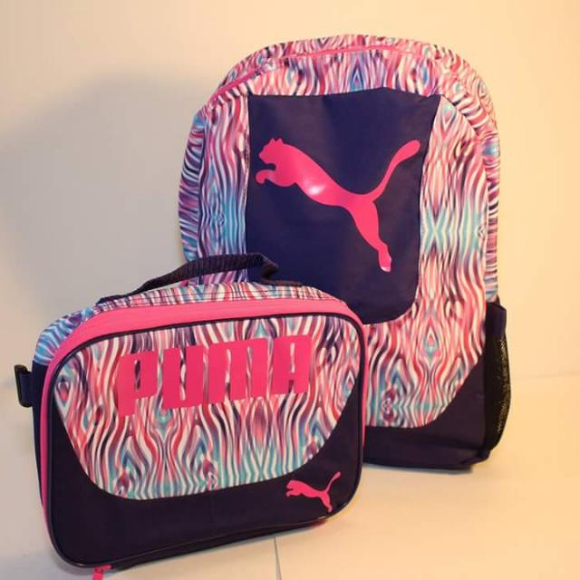 Puma Kid's Backpack Grub Combo