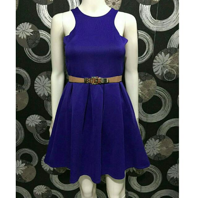 Purple Dress Scuba