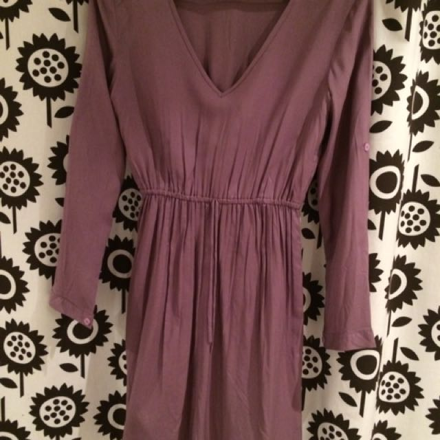 Purple Summer Dress Sz Small Medium