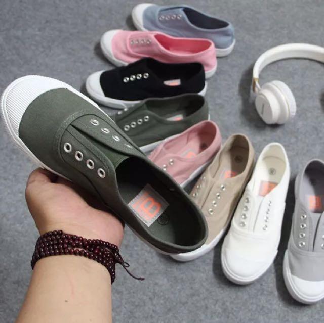 (預購商品)軟Q懶人帆布鞋