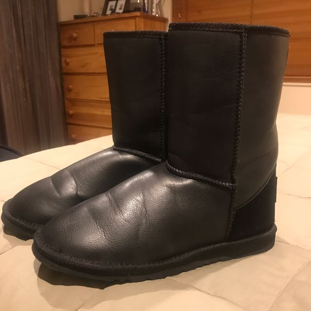 Quicksilver Men's Black Ugg Boots