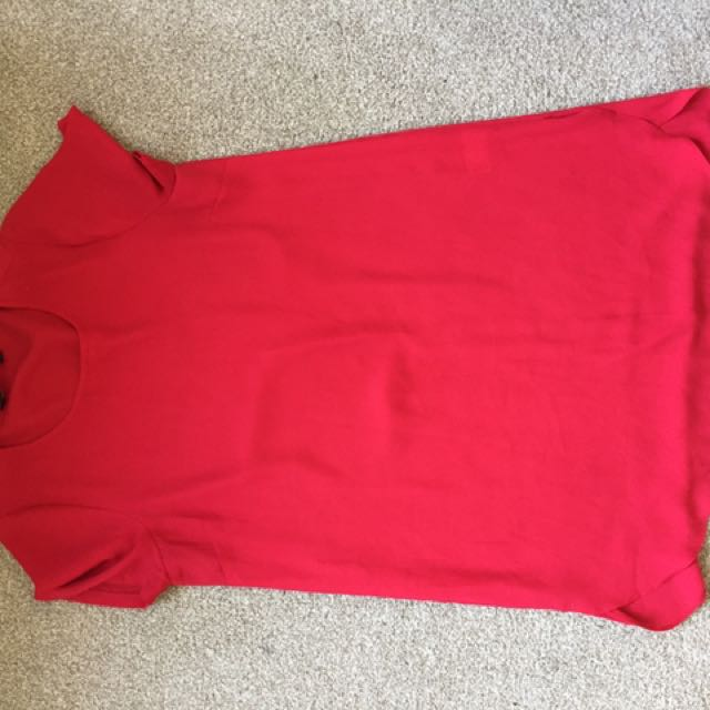 Red Dress From Glassons Size 10