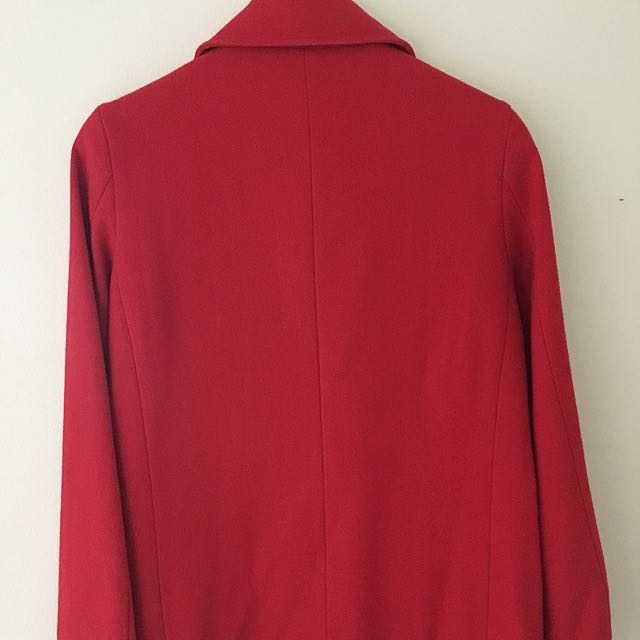Red Sportsgirl Coat