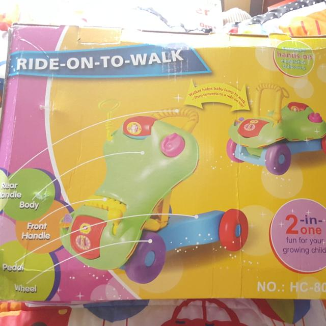 Ride On To Walk