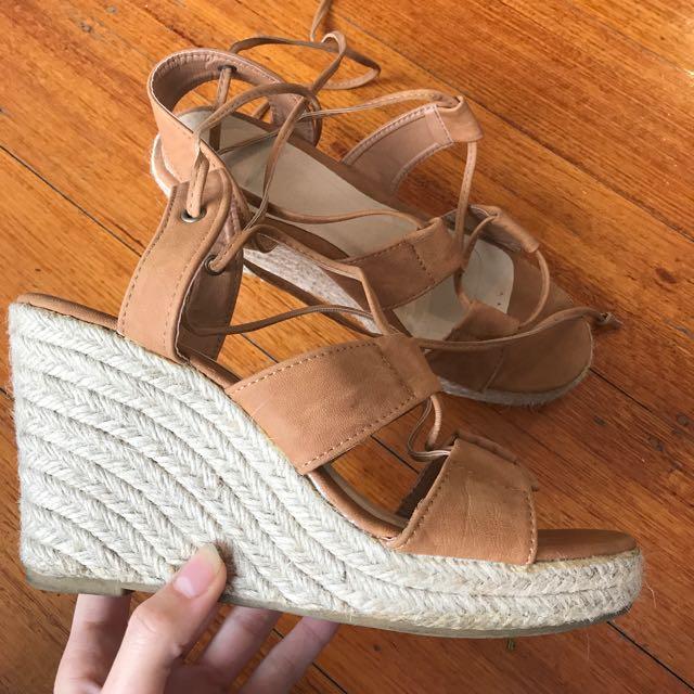 Rubi Shoes Tie Up Sandals