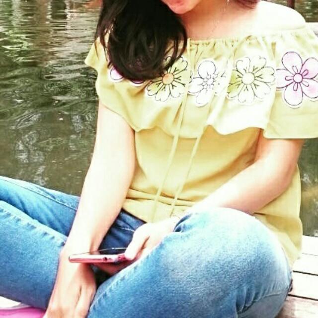 Sabrina Yellow Freeong Jabodetabek