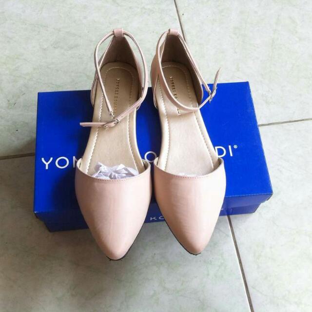 SALE!! Sepatu Flatshoes YONGKIKOMALADI