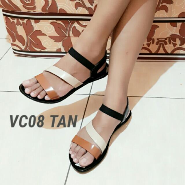 Sandal Teplek tali karet (FS)