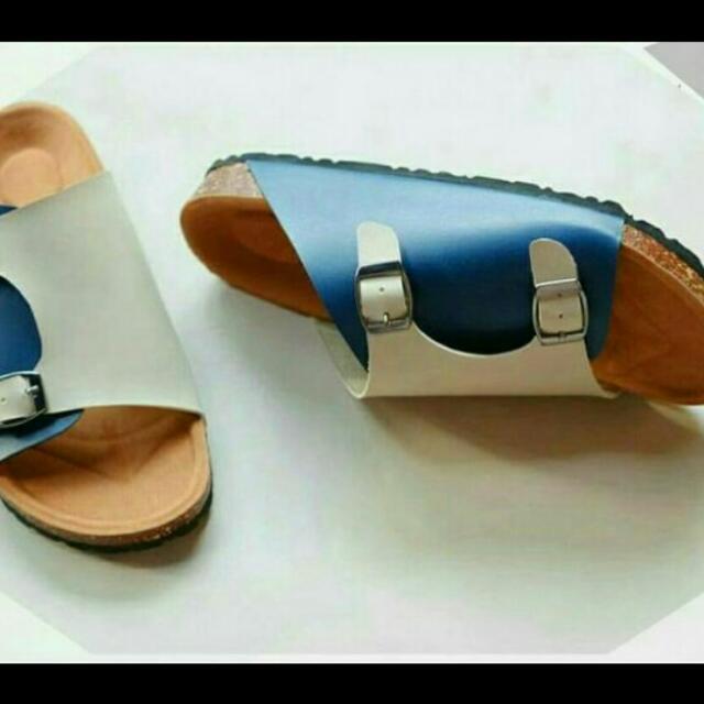 Sandal wanita kokop 2 tone (Fs)
