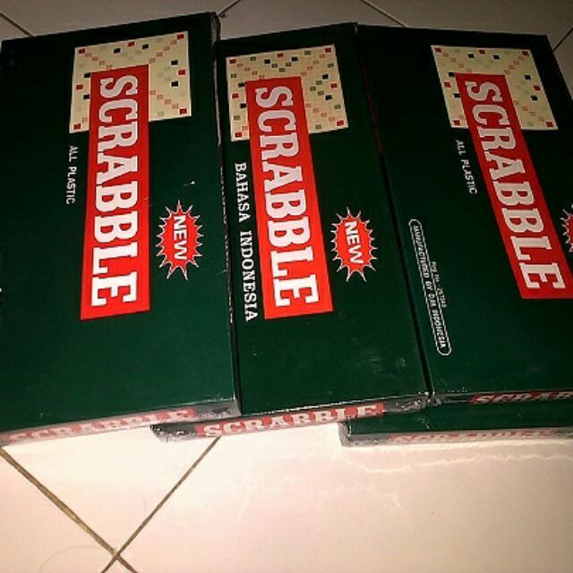 Scrabble Bahasa Indonesia Dan Inggris Jogja