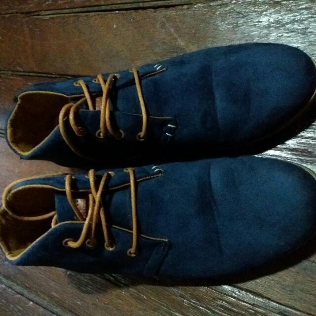 Shubizz Blue Lowcut Boots