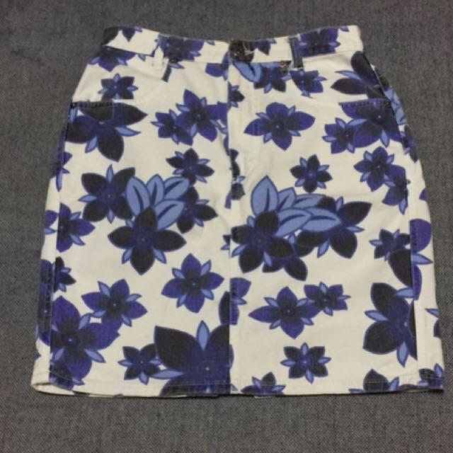 Skirt Blue Italy
