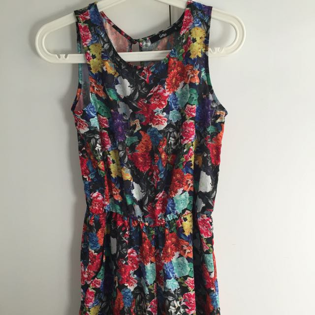 Sports Girl Floral Play suit