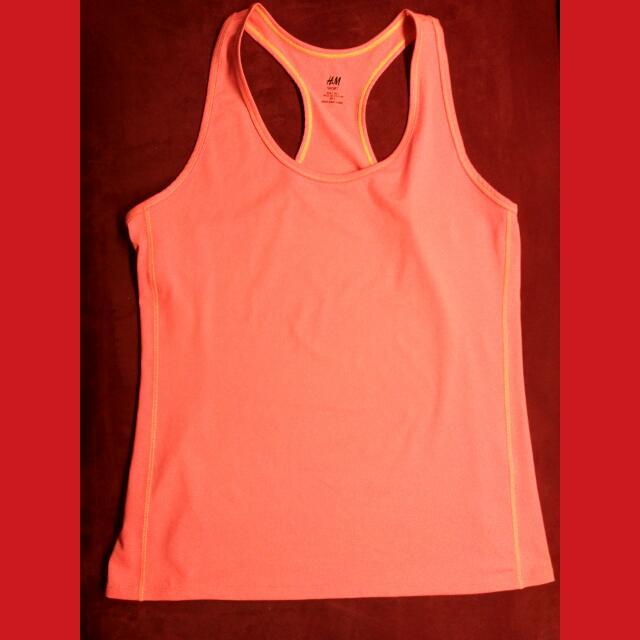 Sportswear Colour : Orange Neon Size : L Brand : H&M