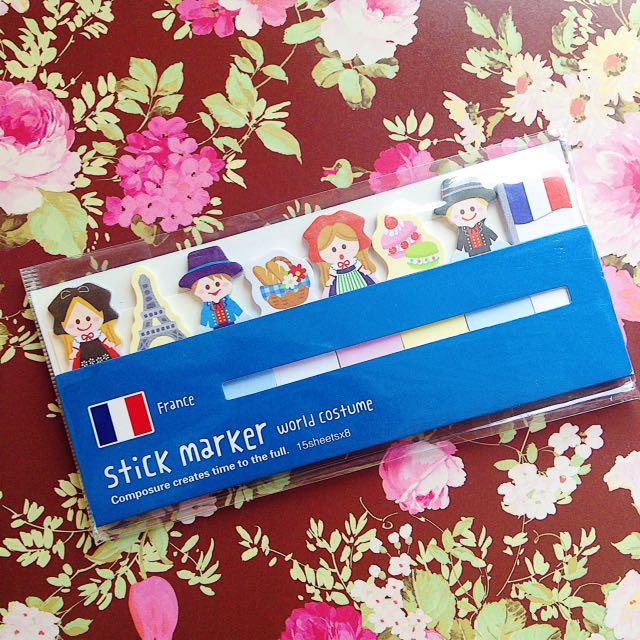 Sticky Page Marker