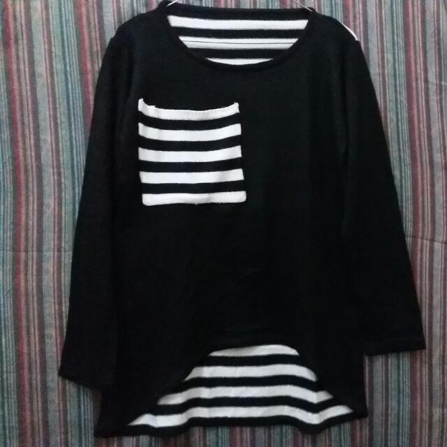 Sweater Stripe B&W