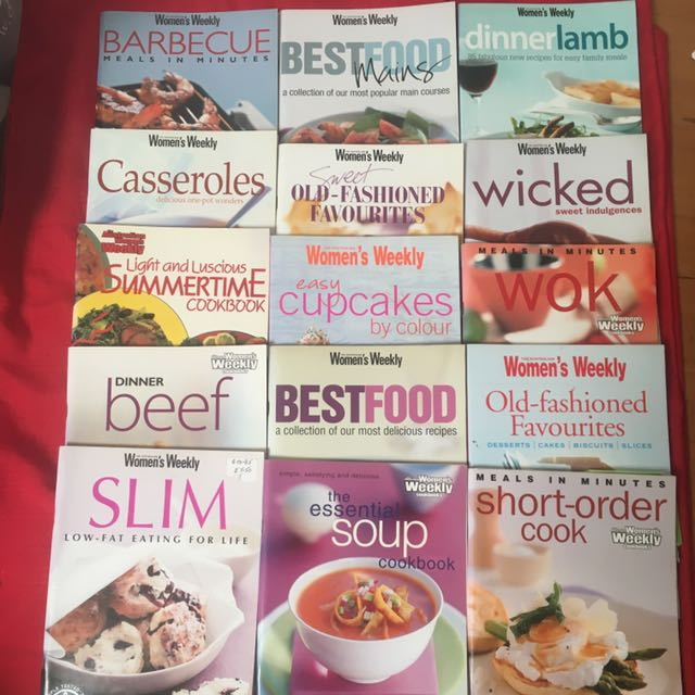 The Australian Women's Weekly Cookbooks